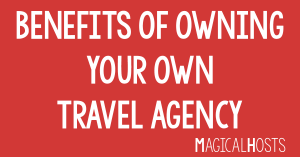 benefits of owning your own travel agency